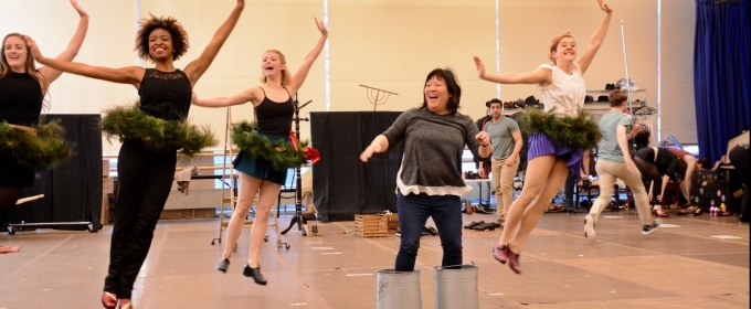 BWW TV: Get Into the Holiday Spirit in Rehearsal with Paper Mill Playhouse's HOLIDAY INN!