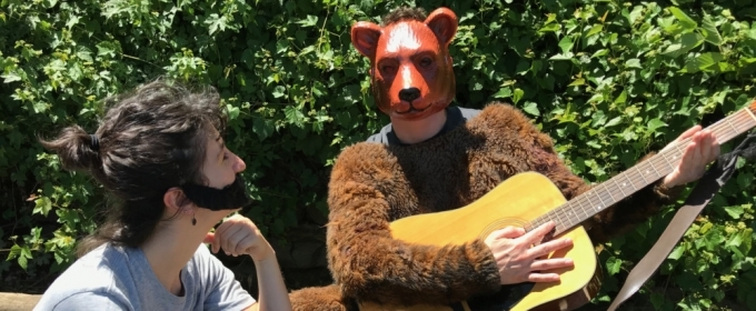 Image result for bon iver fights a bear