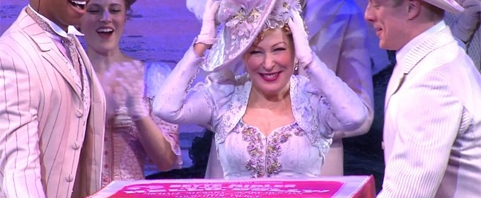 BWW TV: Bette Midler Responds with Elegance to Her Onstage Birthday Surprise