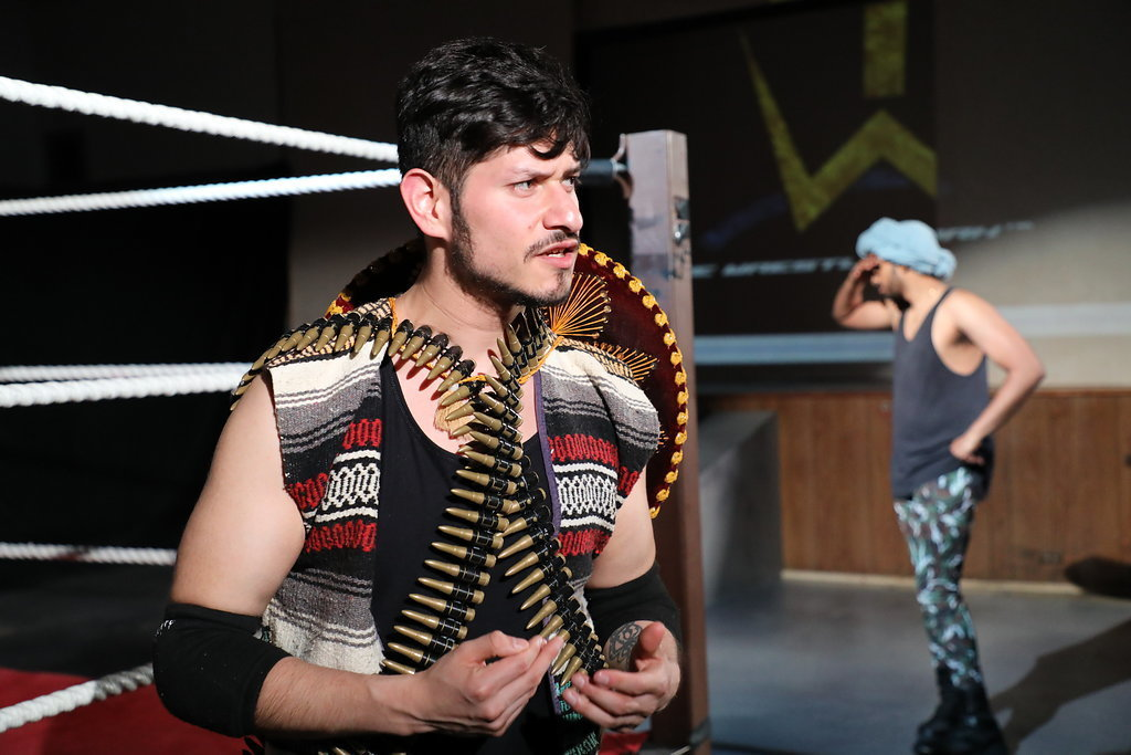 Wrestling with Authentic Inauthenticity: CHAD DEITY at Cohesion Theatre