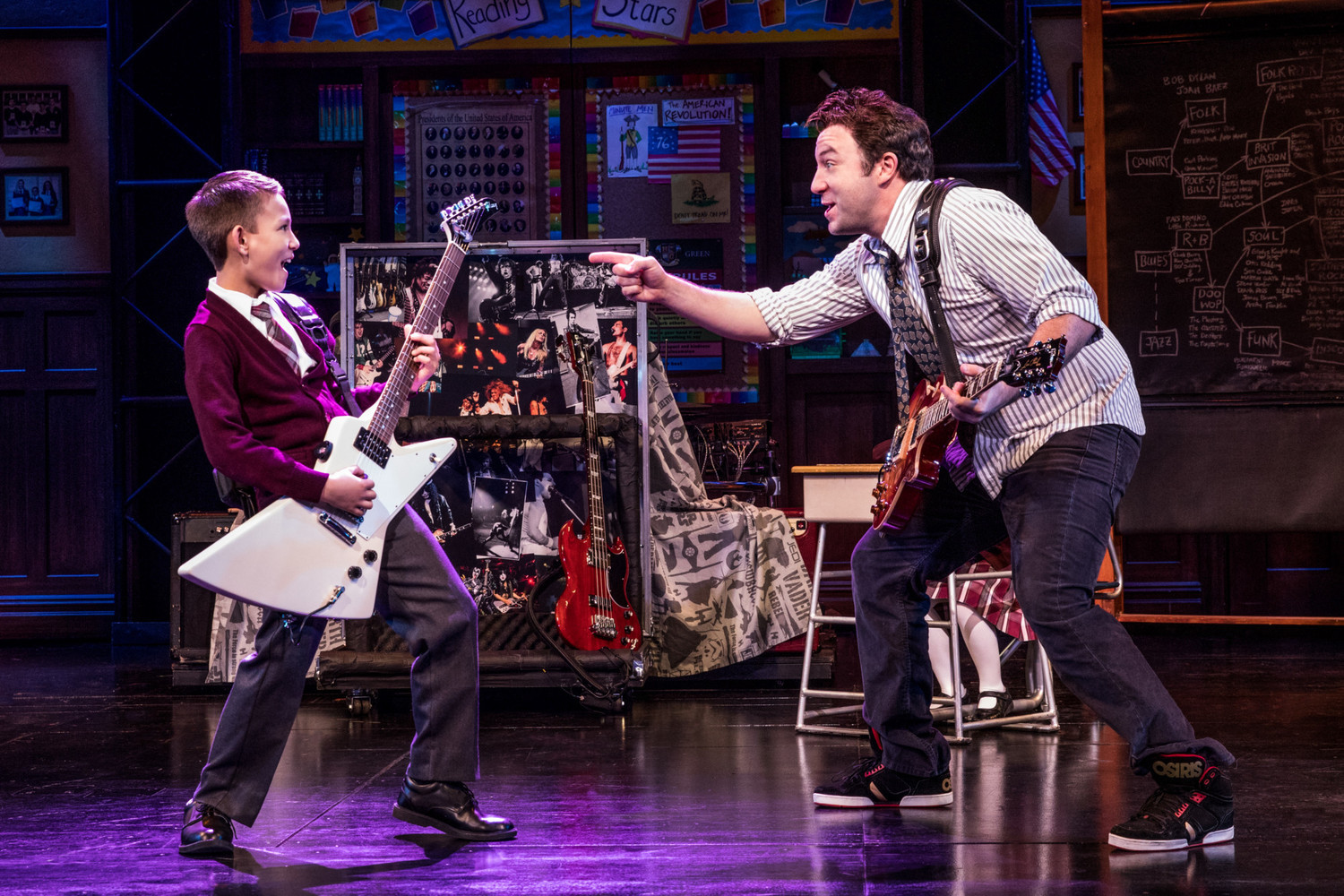 BWW Review: SCHOOL OF ROCK, Well, Rocks at Clowes Memorial Hall