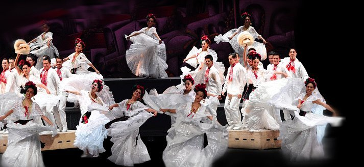 FOLKLORIC BALLET OF MEXICO Playing at Palace Of Fine Arts 4/28 - 5/26