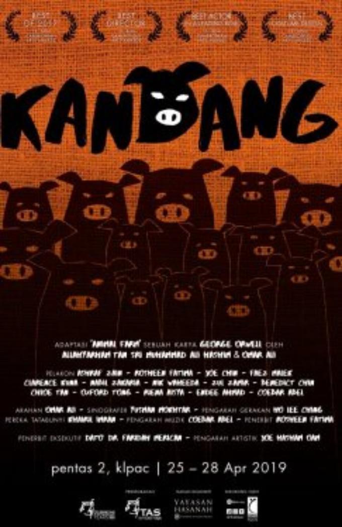 KANDANG Comes to Kuala Lumpu Performing Arts Centre Today!