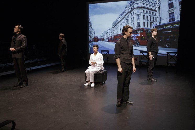 BWW Review: PORCELAIN bravely cruises at The Caduceus Theater Arts Company