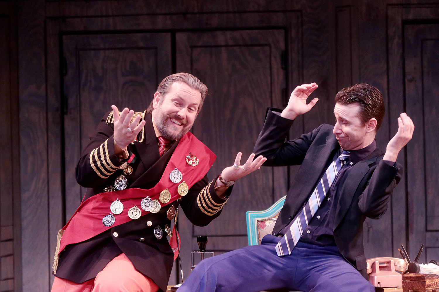 BWW Review: THE GOVERNMENT INSPECTOR Bribes Russia at Classical Theatre Company
