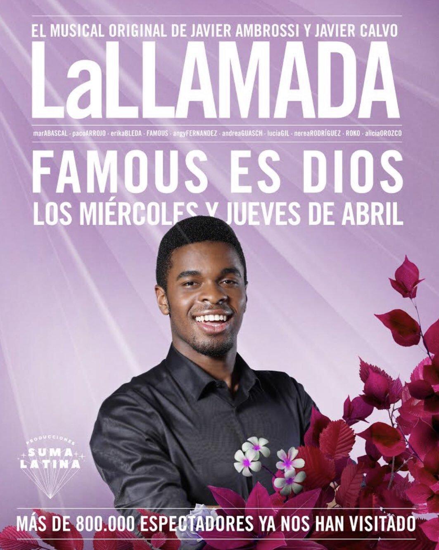 Famous continúa en LA LLAMADA en el Lara