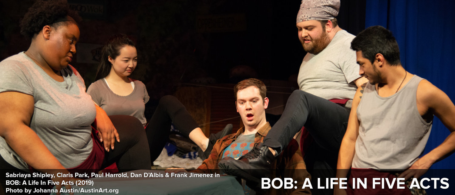 BWW Review: BOB: A LIFE IN FIVE ACTS at Azuka Theatre