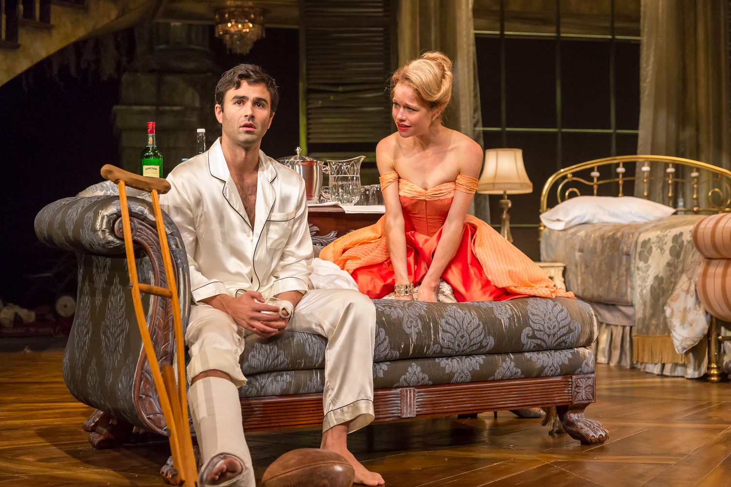 BWW Review: CAT ON A HOT TIN ROOF at Drury Lane Theatre