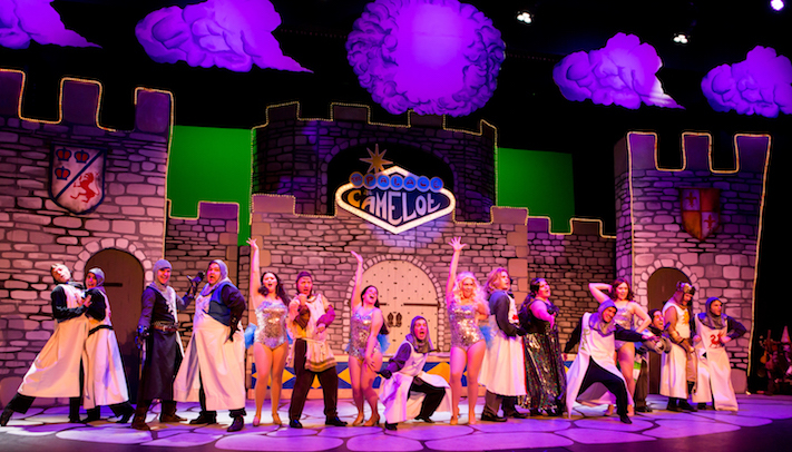 BWW Review: MONTY PYTHON'S SPAMALOT Leaves Audiences Roaring at Warsaw Federal Incline Theater
