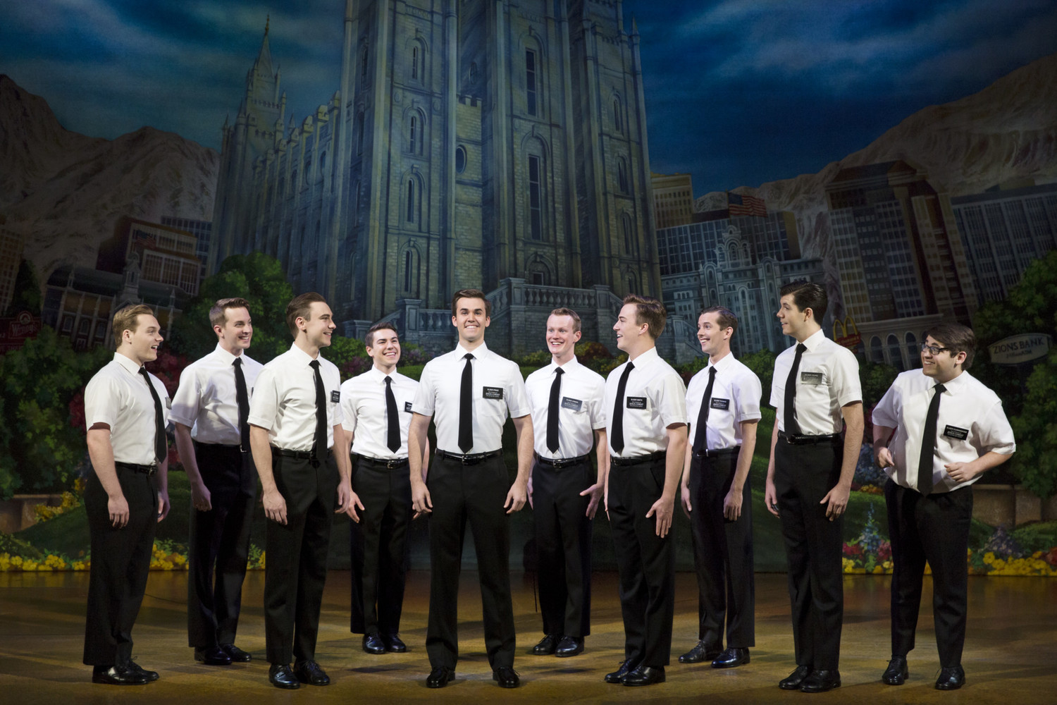 BWW Review: THE BOOK OF MORMON preaches at Broadway At The Hobby Center