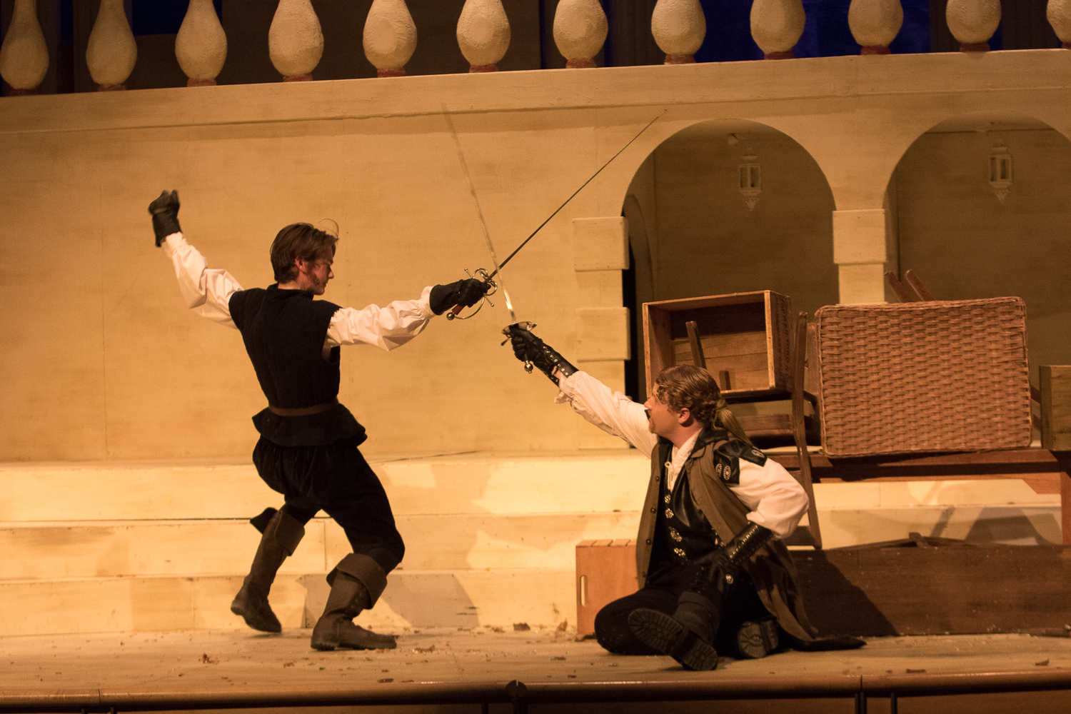 BWW Review: THE THREE MUSKETEERS at Fargo Davies