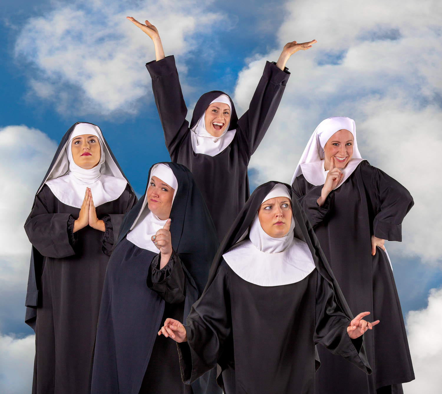 "BWW INTERVIEW: ""Religious Vaudeville Meets Talent Show!"" Kate Metroka and Sophia Decker Sing and Shout About NUNSENSE at Marietta Theatre Company"