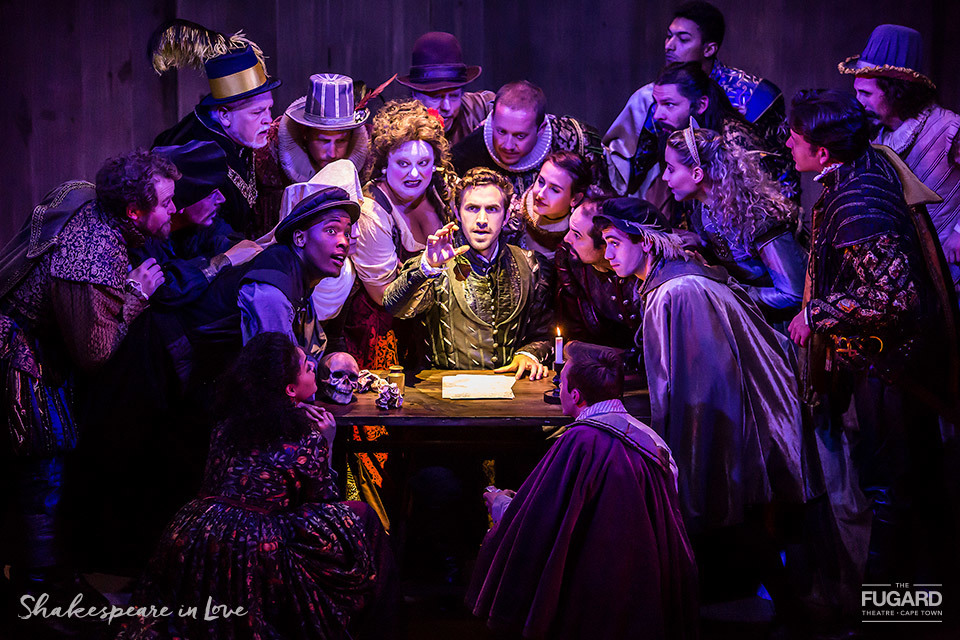 BWW Review: Polished SHAKESPEARE IN LOVE at The Fugard Theatre An Artful Posture of The Film That Inspired It