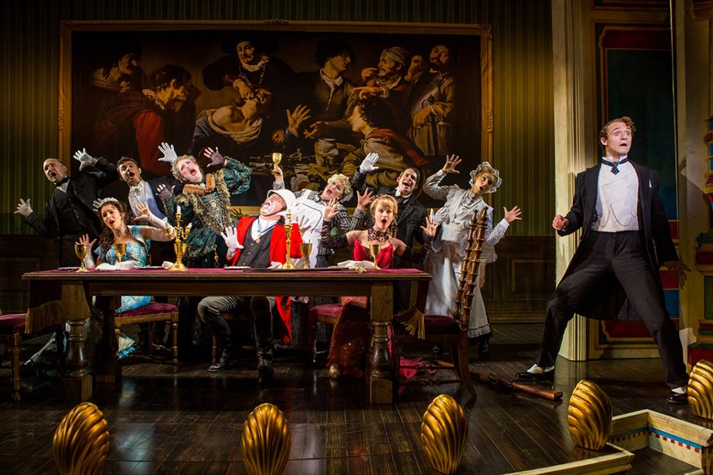 BWW Review: National Tour Of A GENTLEMAN'S GUIDE TO LOVE AND MURDER Glistens With Sharp-Witted Hilarity At The Tulsa Performing Arts Center