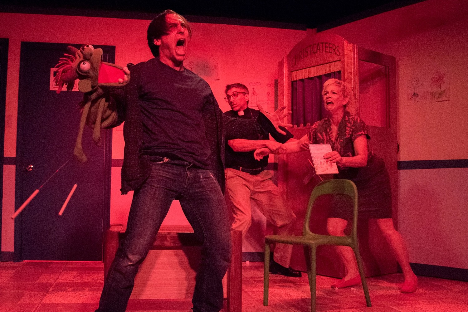 BWW Review: TheatreLAB and 5th Wall Theatre's HAND TO GOD is Savagely Funny!