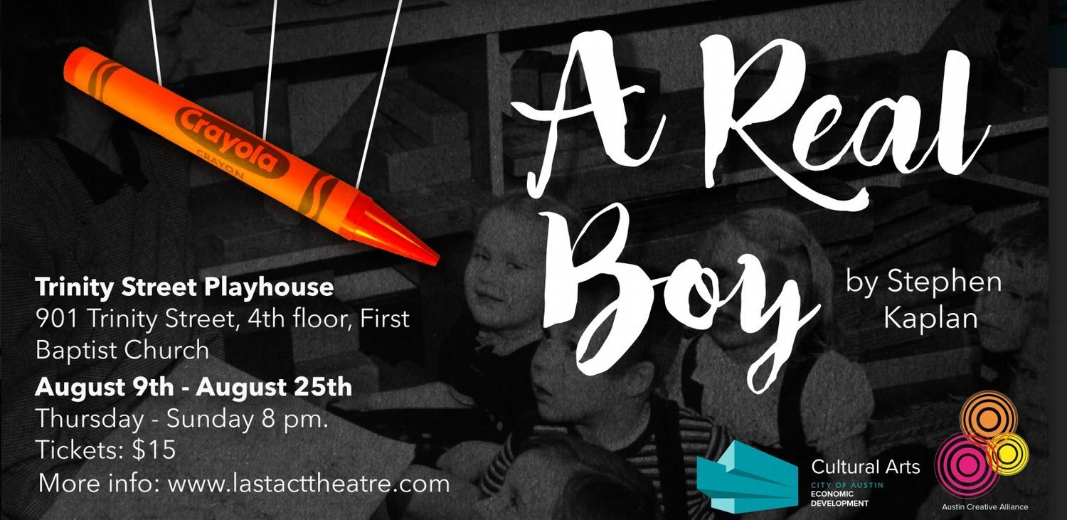 BWW Review: Last Act Theatre Challenges Our Assumptions with A REAL BOY