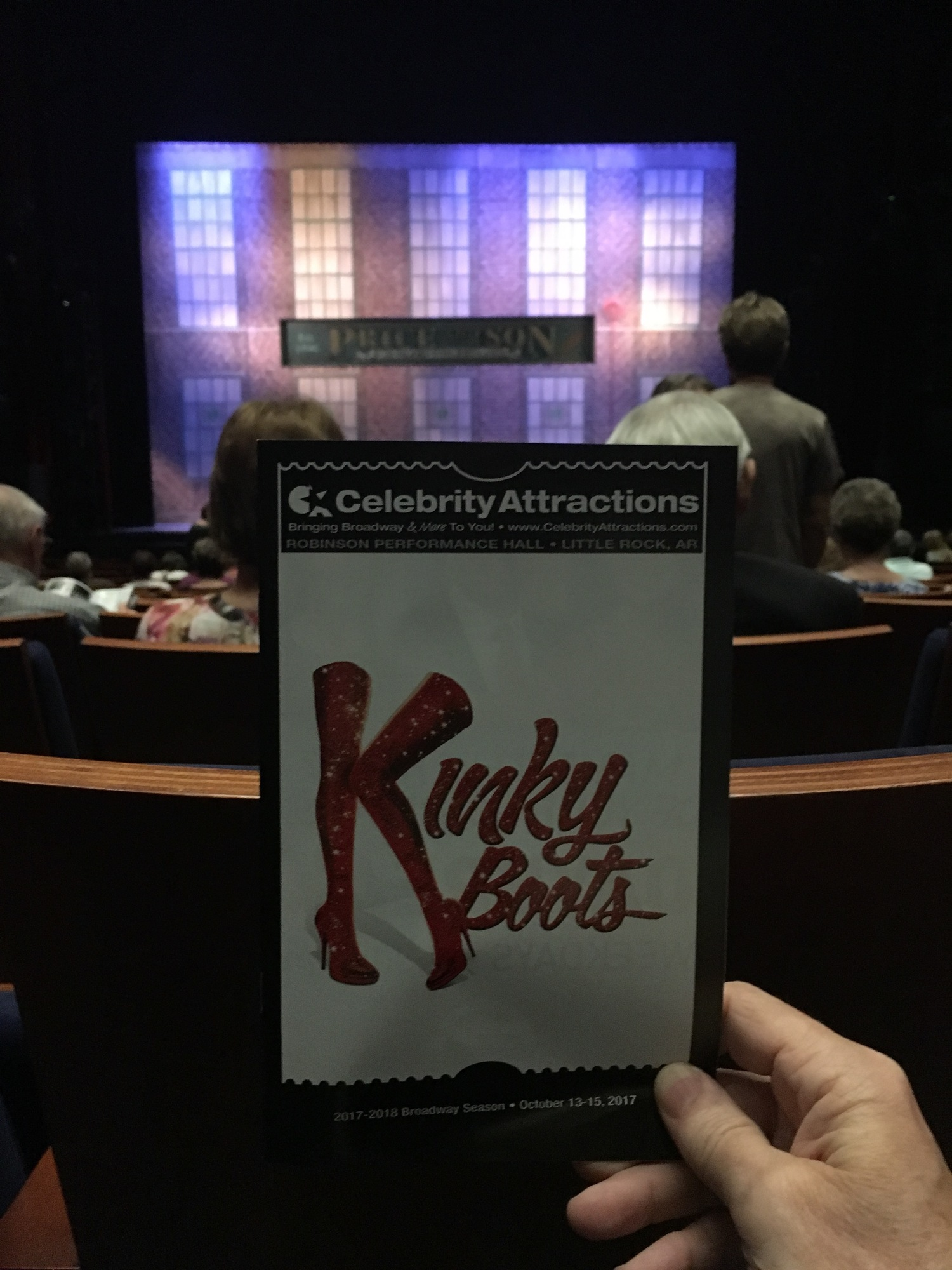 BWW Review: KINKY BOOTS at Robinson Performance Hall-The Most Beautiful Thing in the World is watching this amazing cast shine like a sequined covered stiletto!