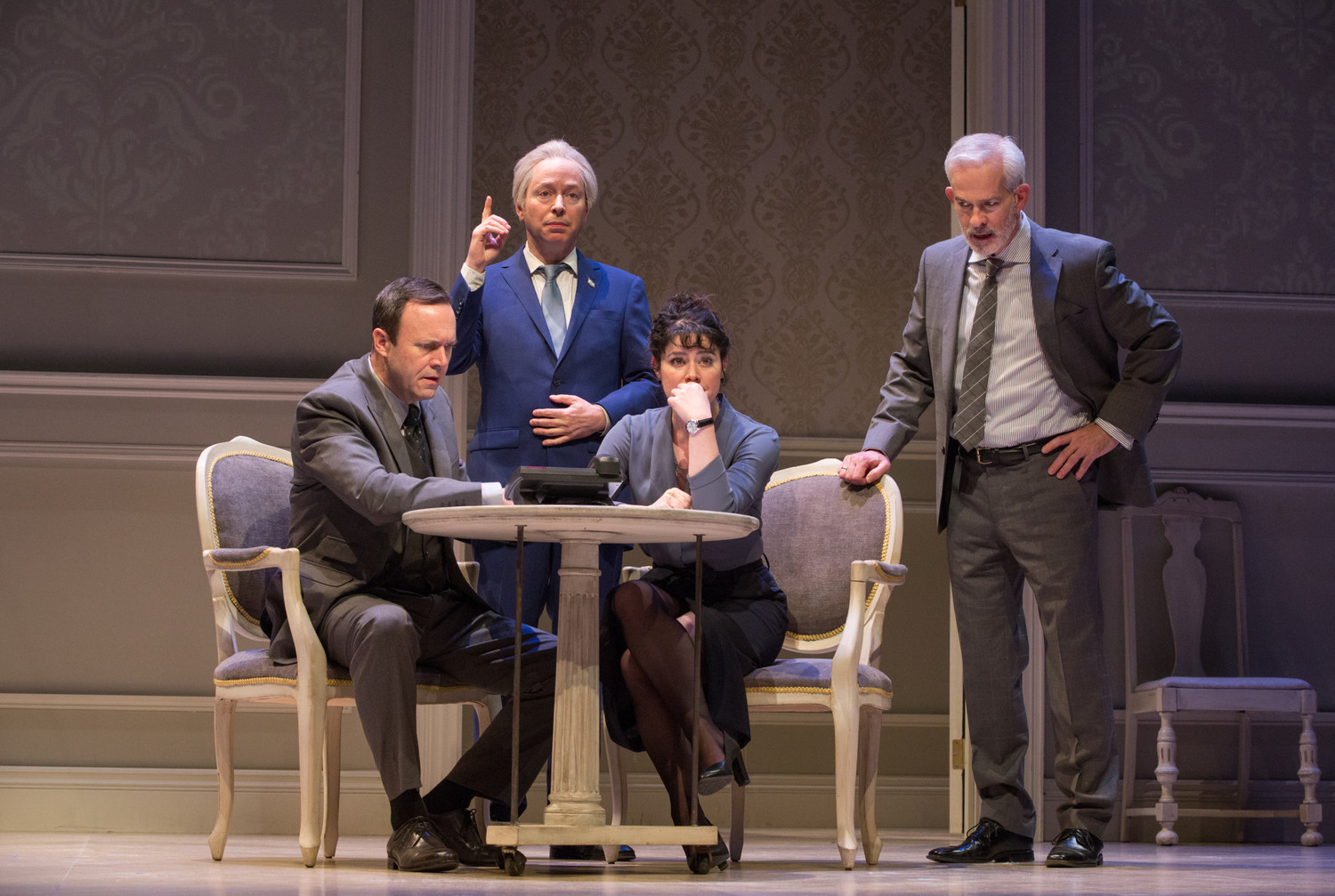 BWW Review: OSLO at Mirvish Breathes Life into the Figures Behind the Oslo Accords