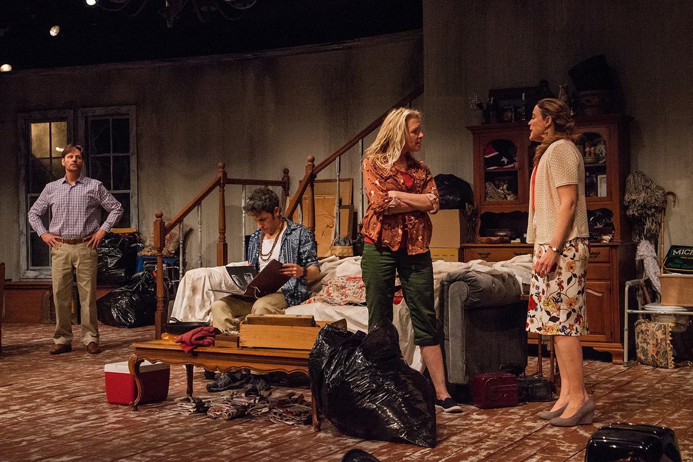 """BWW Review: Dobama's Compelling """"Appropriate"""" expands the definition of dysfunctional family"""