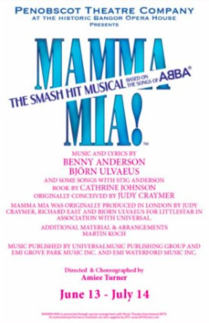 MAMMA MIA Comes to Penobscot Theatre Company This July!