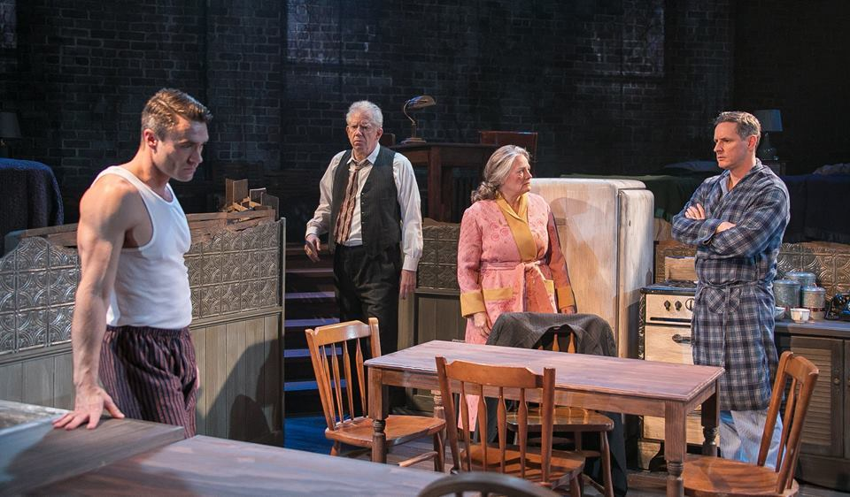 a review of a scene in death of a salesman The royal shakespeare company's production of arthur miller tragedy, death of a salesman, opened tonight with antony sher in top form review.