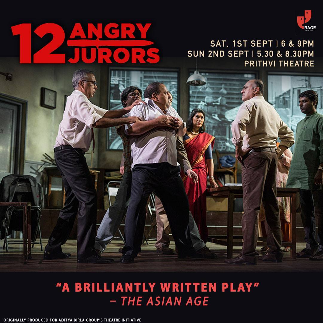 BWW Review: Reginald Rose's 12 ANGRY JURORS Staged In Mumbai
