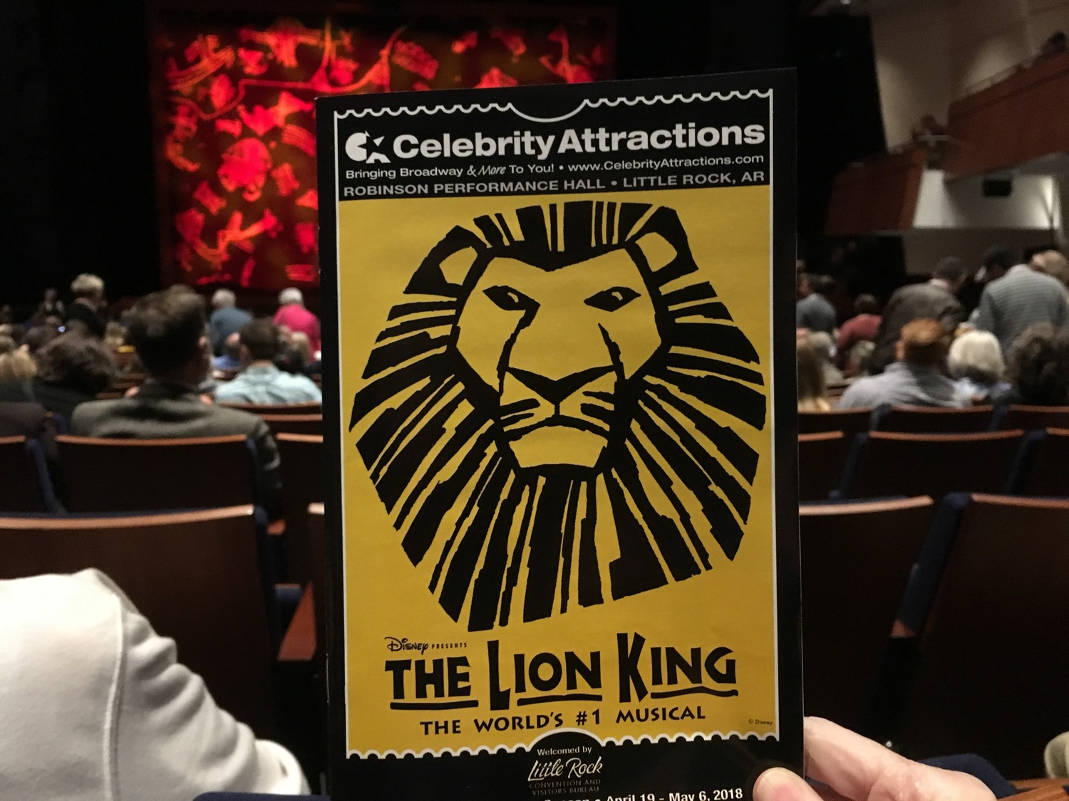 Regional Roundup: Top New Features This Week Around Our BroadwayWorld 4/27 - THE LION KING, SCHOOL OF ROCK, SISTER ACT and More!