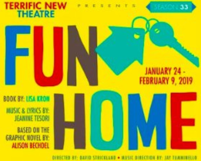 FUN HOME Playing at Terrific New Theatre in Birmingham Through 2/9!