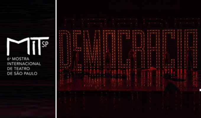 DEMOCRACIA Comes to Teatro Faap 3/18 - 3/20!