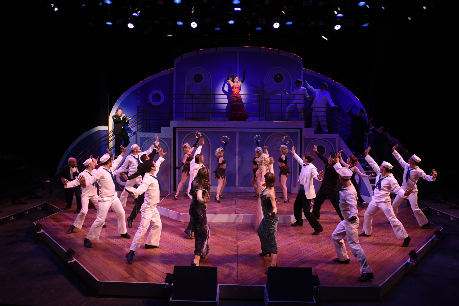 BWW Review: ANYTHING GOES Delightfully Sails at Porthouse