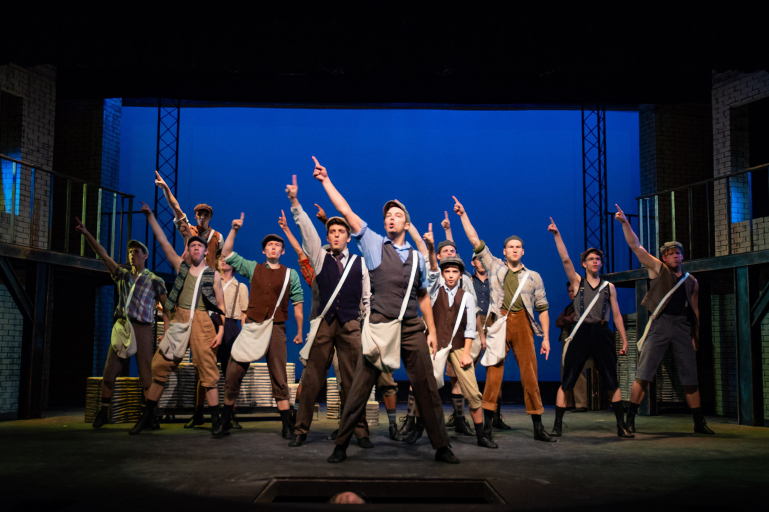 BWW Review: Disney's NEWSIES! at The Public Theater Of San Antonio- Magnificent Fun for All Ages