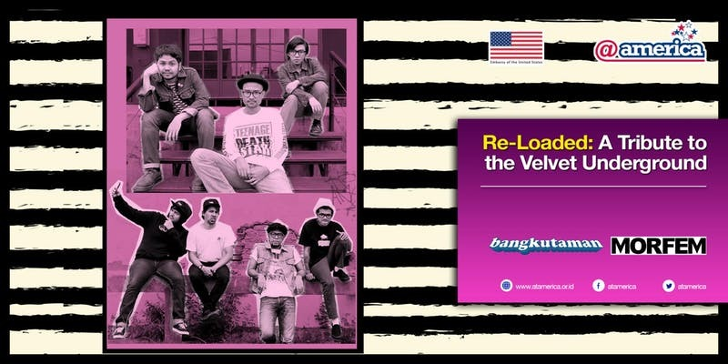 RE-LOADED: A TRIBUTE TO THE VELVET UNDERGROUND Comes To Pacific Place Mall on 9/29