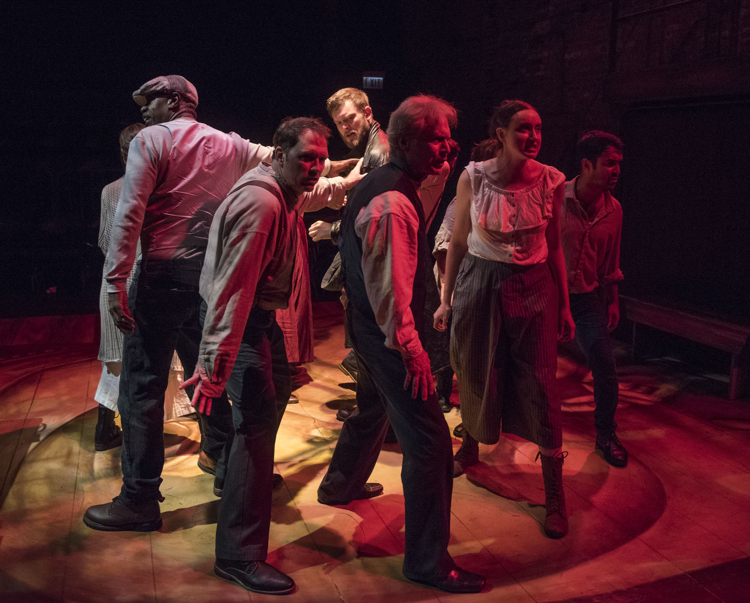 BWW Review: CRIME AND PUNISHMENT at Shattered Globe Theatre