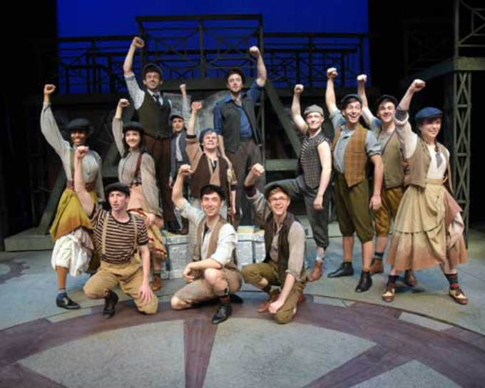 BWW Review: NEWSIES At Westchester Broadway Theatre