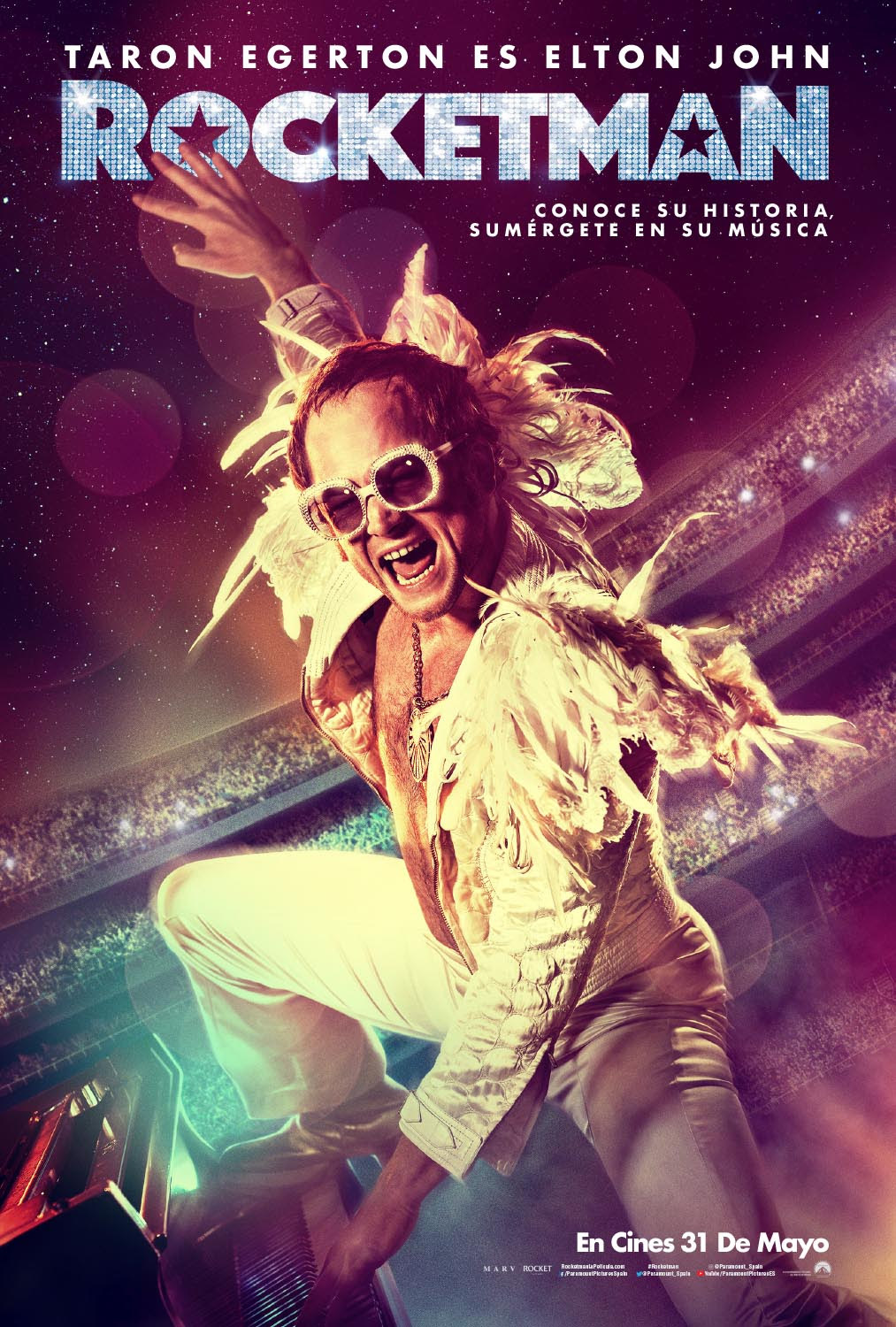 STAGE TUBE: Nuevo Poster y Trailer de ROCKETMAN