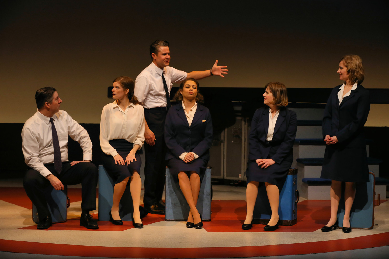 BWW Review: World Premiere of Fast, Funny, Smart STEWARDESS! at History Theatre