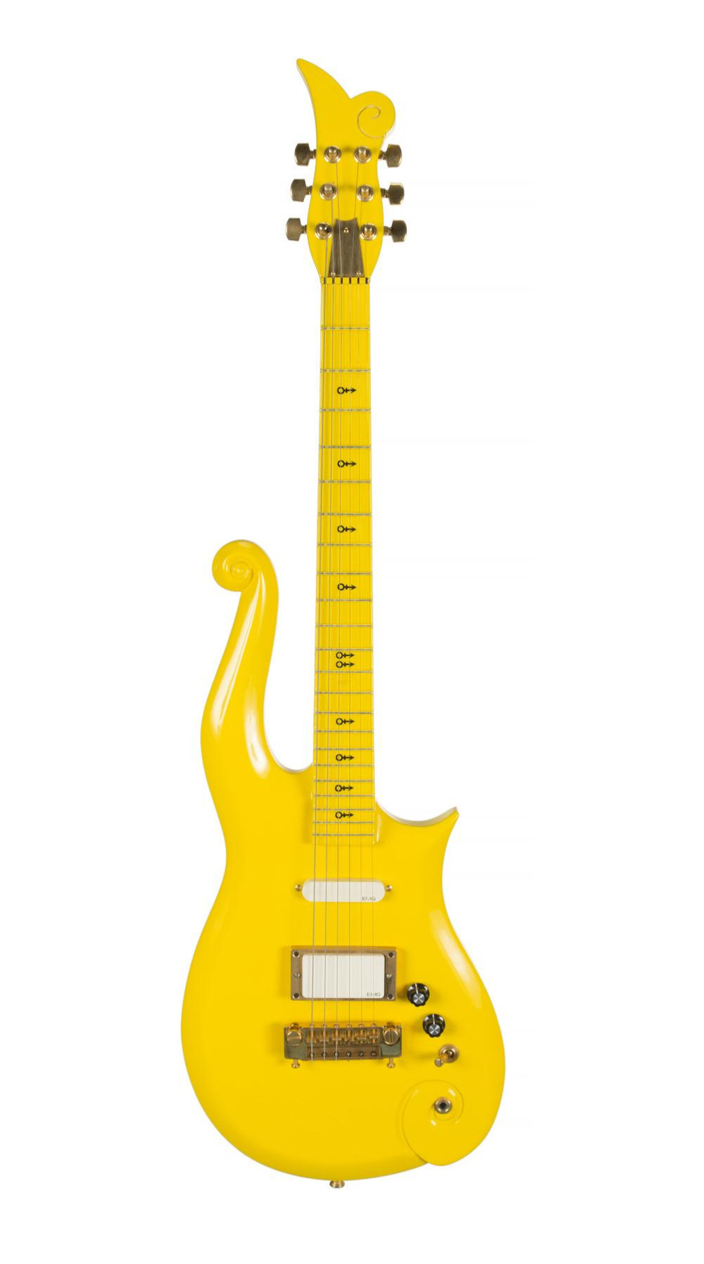 Prince's Yellow Cloud Guitar Sells For $225,000 at Auction