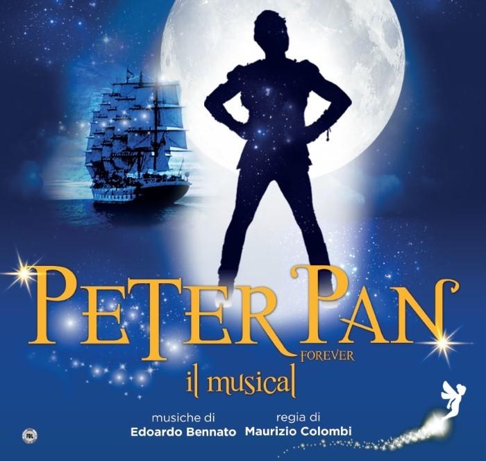 PETER PAN FOREVER: IL MUSICAL a Bologna sabato 19 e domenica 20 gennaio