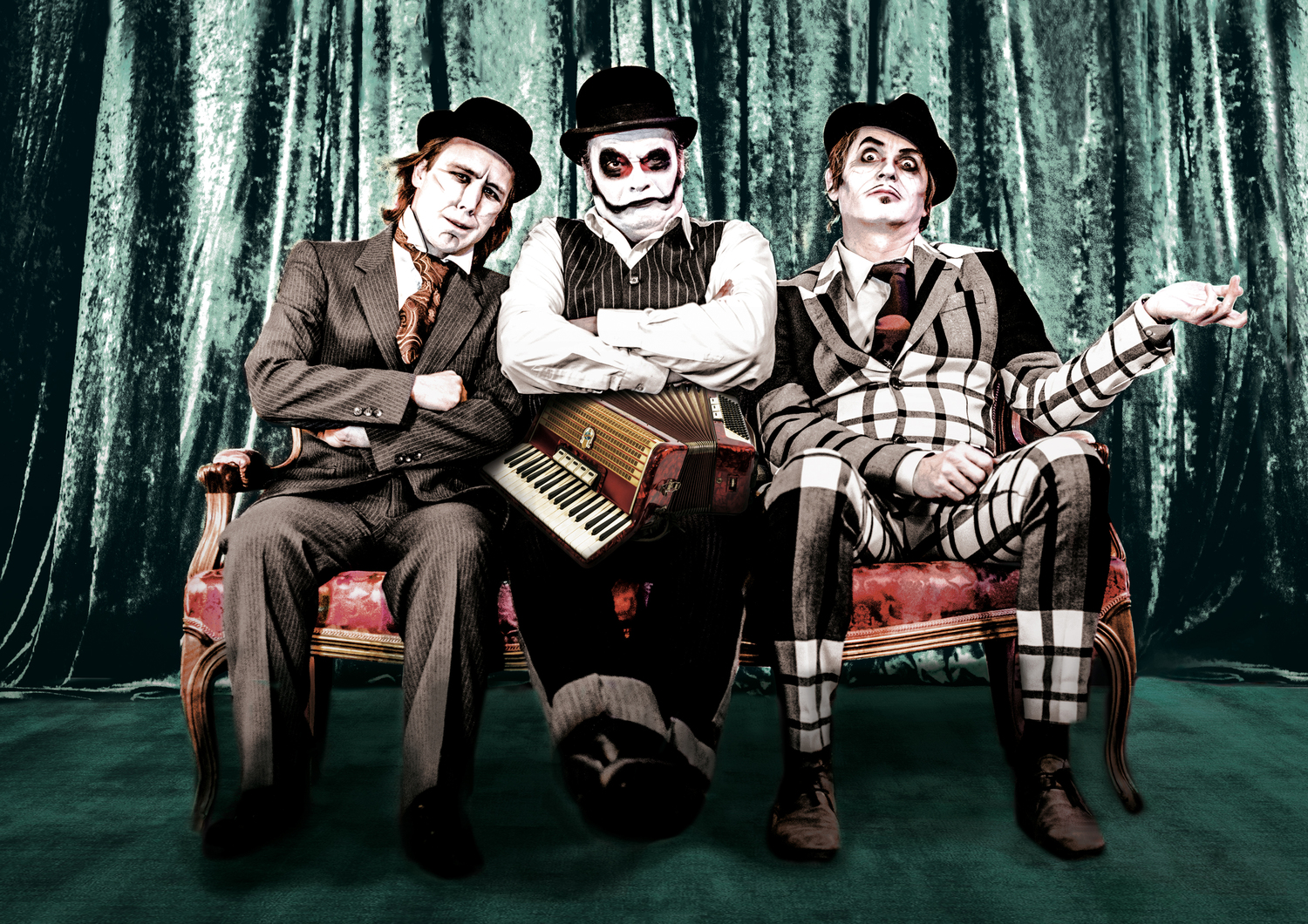 BWW Preview: THE TIGER LILLIES at Admiralspalast - The British Cult Trio on European Tour bring their comedic stylings to Berlin