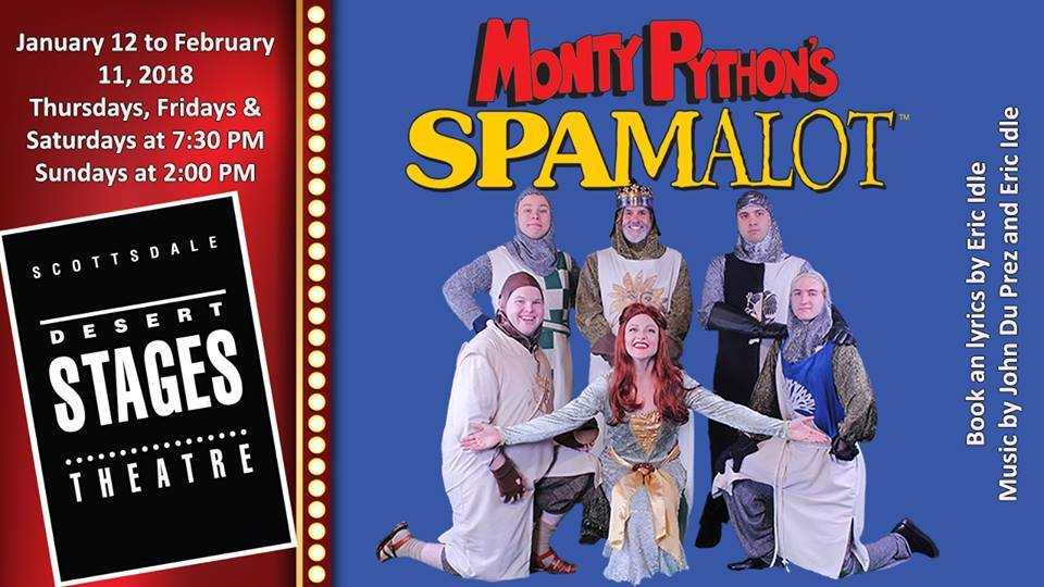 BWW Review: Desert Stages Theatre Opens the Humorous MONTY PYTHON'S SPAMALOT