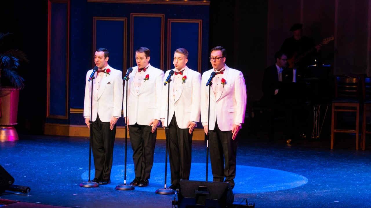 BWW Review: FOREVER PLAID at The Palace Teater