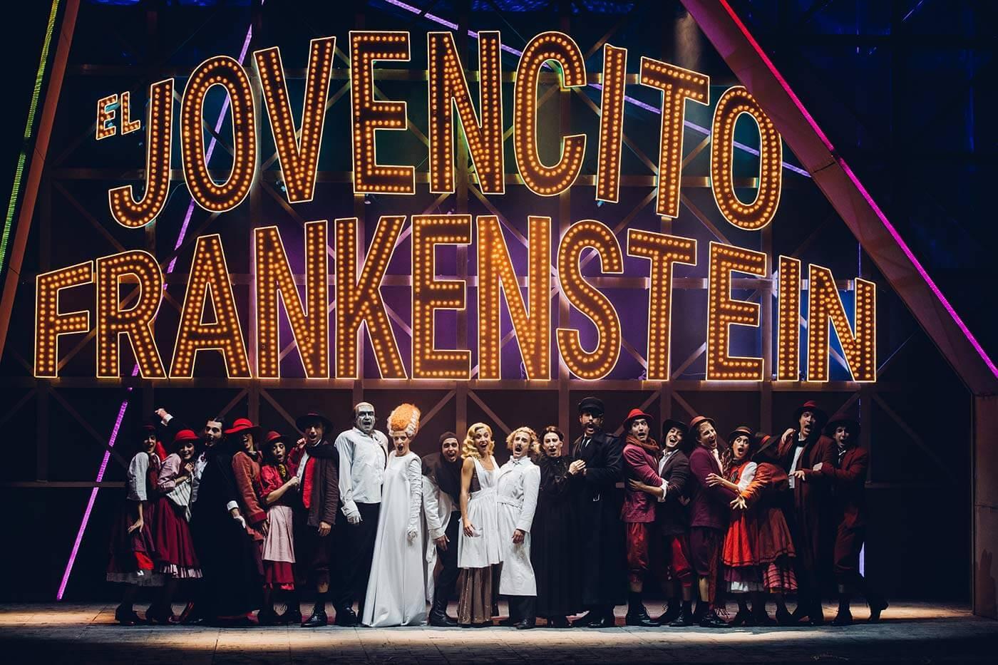 EL JOVENCITO FRANKENSTEIN celebra hoy su función número 100