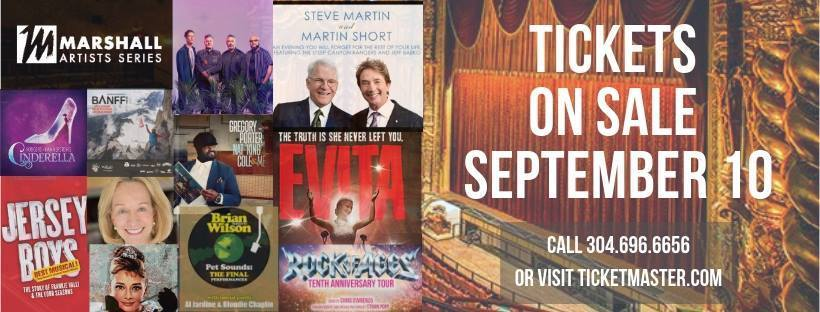 BWW Feature: Tickets For the 2018/2019 MARSHALL ARTIST SERIES at KEITH-ALBEE PERFORMING ARTS CENTER on Sale On September 10th!