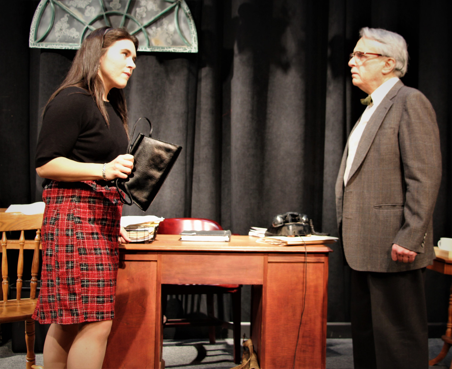 BWW Review: TRYING at Square One Theatre