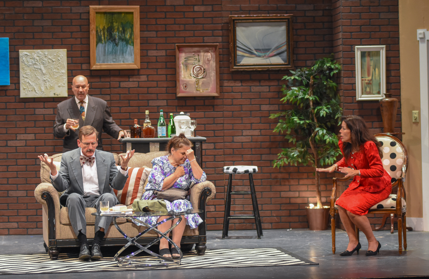 Uneven SOCIAL SECURITY at The Community Players