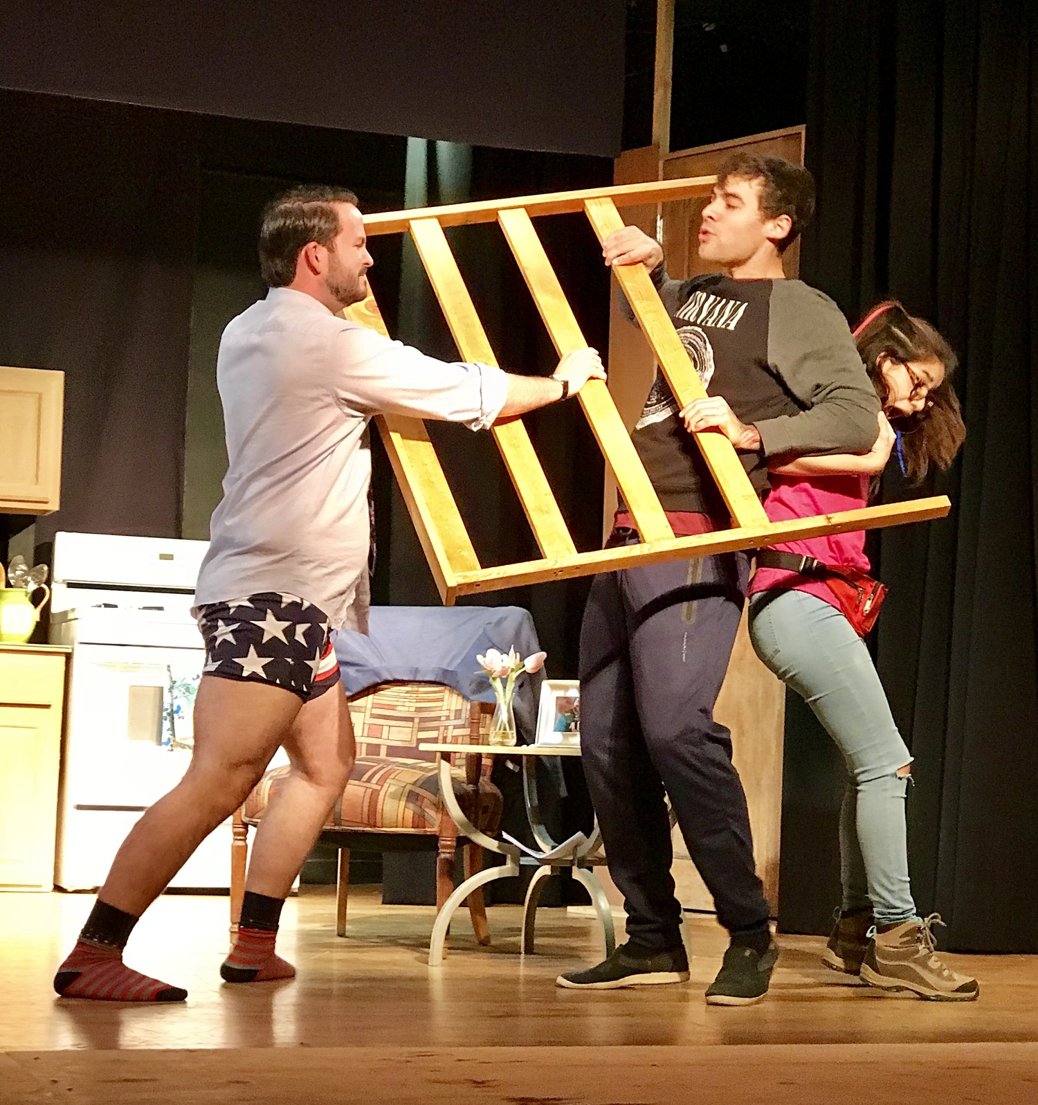 BWW Review: DETC's Production of ELECTION DAY is a Winner