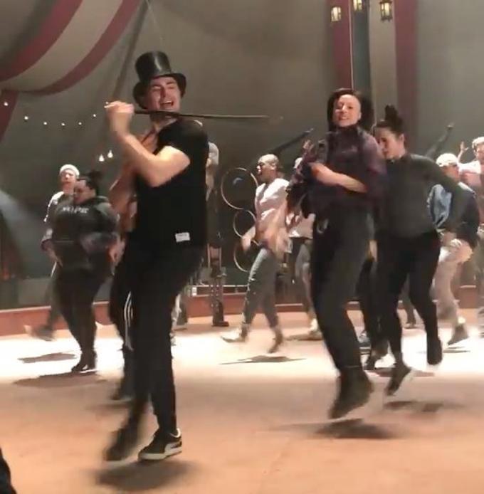 VIDEO: Zac Efron Shares 'GREATEST SHOWMAN' Rehearsal
