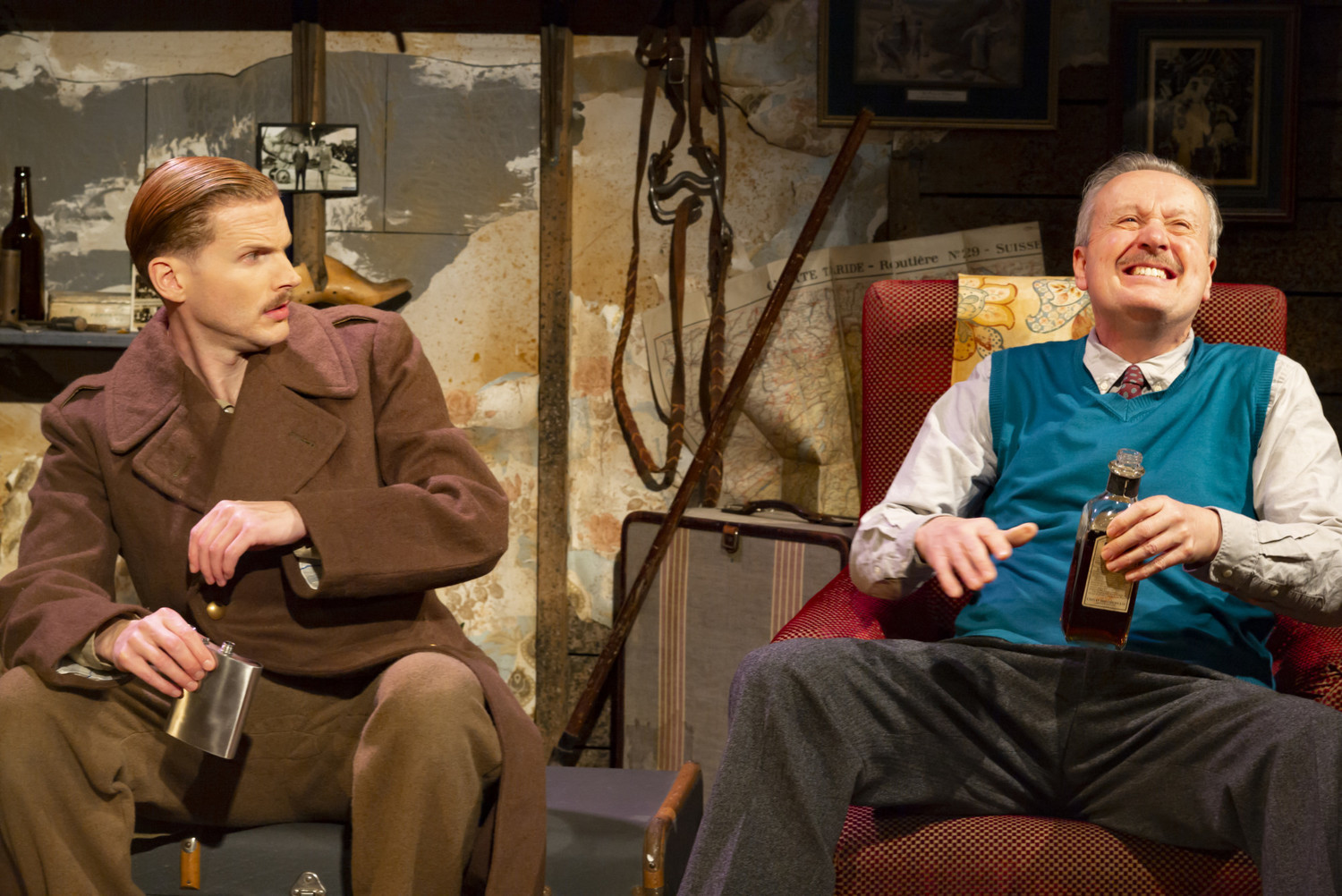 BWW Review: BILLY BISHOP GOES TO WAR, Southwark Playhouse