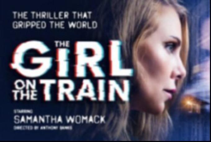 THE GIRL ON THE TRAIN Plays Bord Gais Energy Theatre Early June 2019