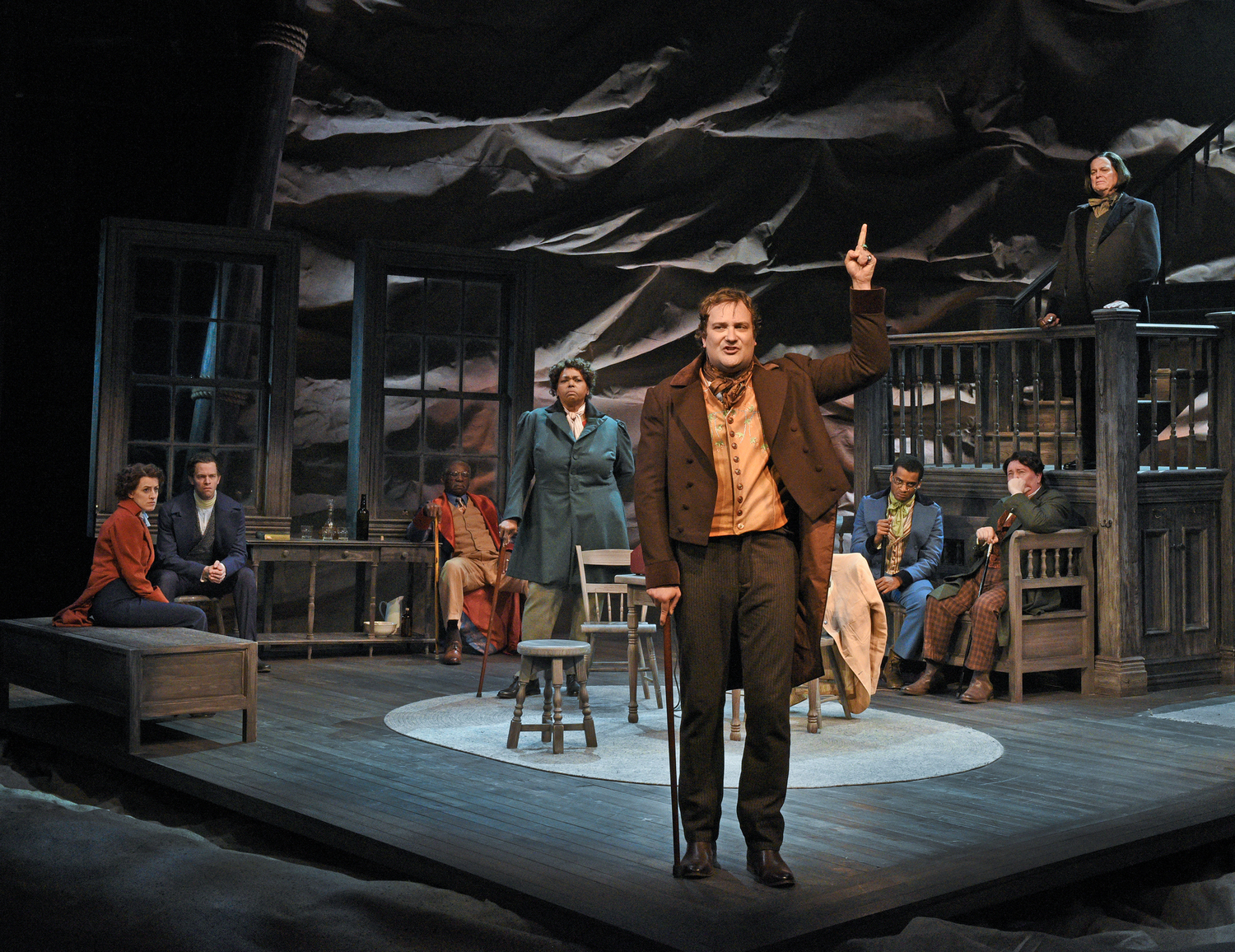 BWW Review: THE TRIALS OF SAM HOUSTON at Dallas Theater Center